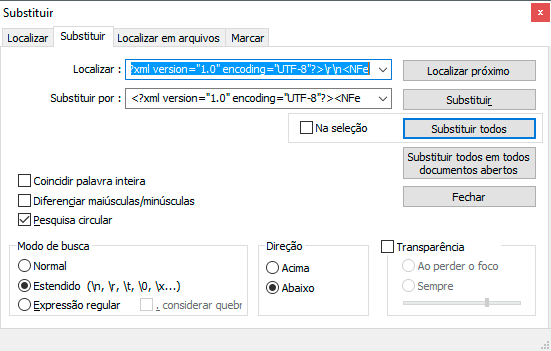 Como converter um arquivo do Layout NFe para o Layout enviNFe?
