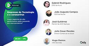 Webinar | Empresas de Tecnologia e o coronavírus - Como negócios de alta performance estão passando