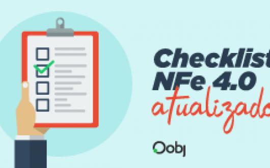 Checklist   NFe 4.0