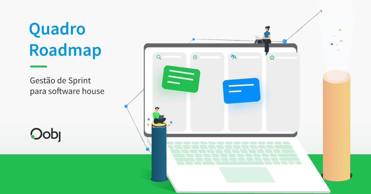 Quadro Roadmap   Gestão de Sprint para Software House