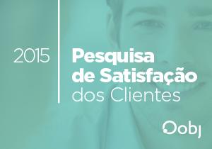Pesquisa de Satisfação de Clientes 2015