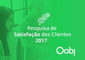 Pesquisa de Satisfação dos Clientes 2017